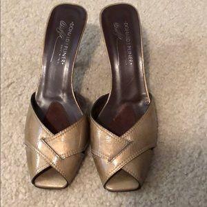 Donald J Pliner kitten heels sandals